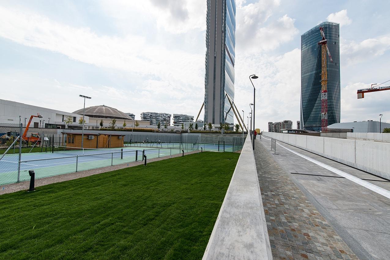 CityLife - Mediolanum Tennis, centro sportivo a Milano